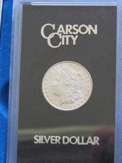 1884 CC Morgan Silver Dollar (Mixed Carson City)