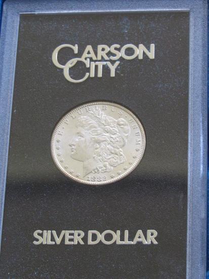 1882 CC Morgan Silver Dollar (Mixed Carson City)