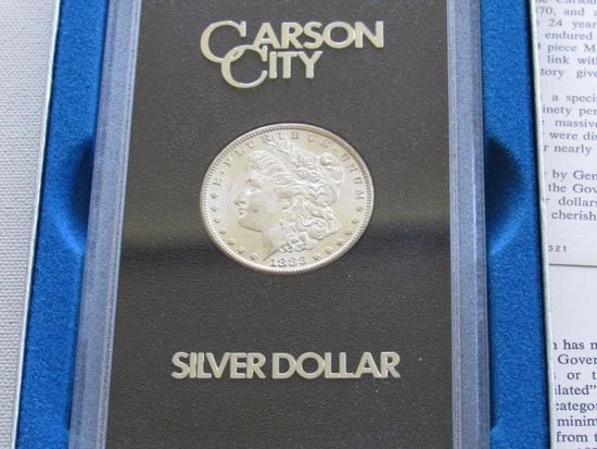 """1883 CC """"Mixed Carson City"""" Morgan Silver Dollar"""