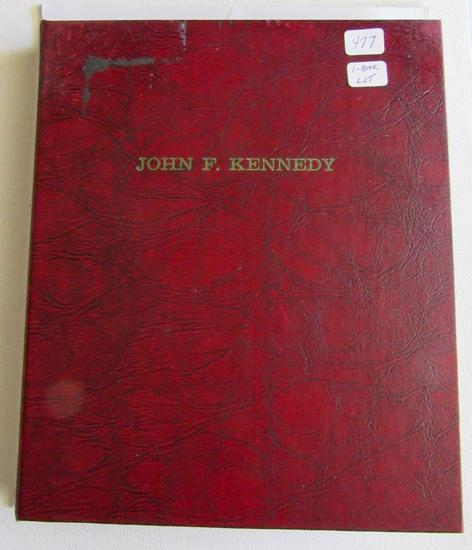 John F Kennedy book (over 100 coins) 1964 Silver Half (39 coins), Kennedy 65-70(38 coins) and more
