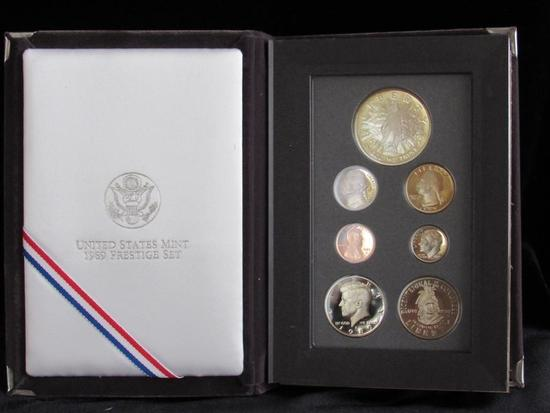1989 United States Mint Prestige Set