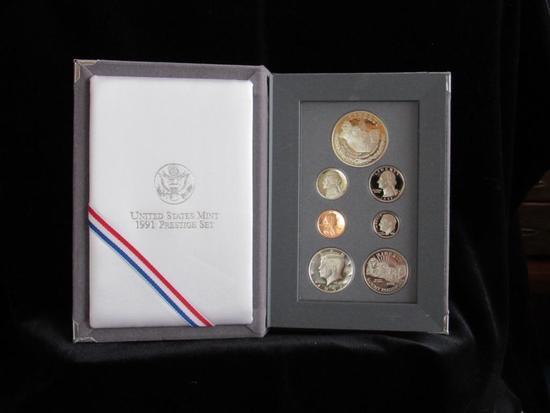 1991 United States Mint Prestige Set