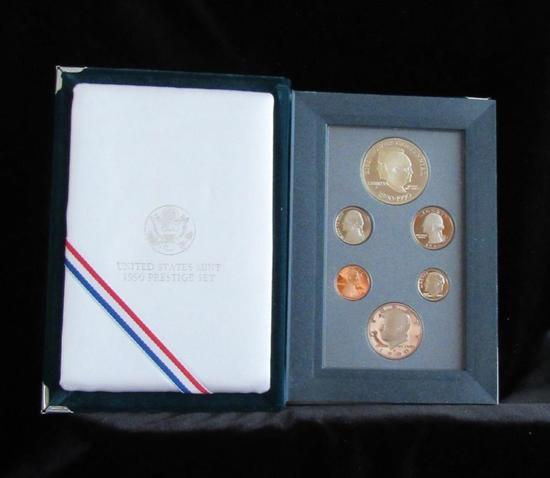 United States Mint 1990 Prestige Set