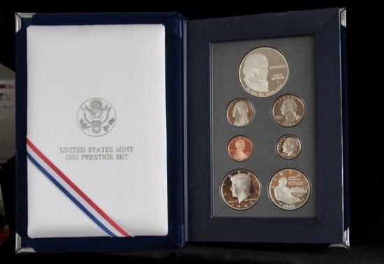 United State Mint 1993 Prestige Set