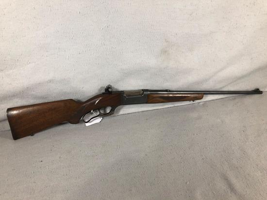 Savage Model 99 Lever Action Rifle .300 Savage Ctg w/ Redfield Receiver Sight S/N 653067