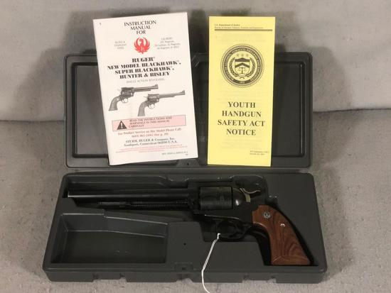"Ruger NM Blackhawk Revolver .45 Colt Ctg. Hunter & Bisley Model 8"" Barrel S/N 47-80324"