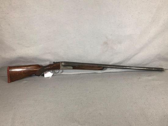 Zabala Double Barrel Side by Side 10 ga Shotgun