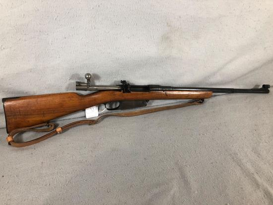 Mauser Sporter Model 1891 7.65 Argentine (Belgian) Bolt Action Rifle S/N H9256