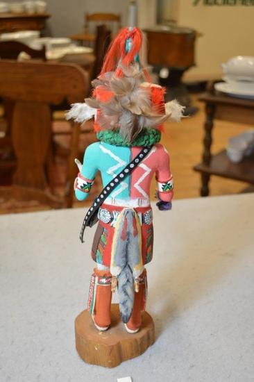 (1) Hopi Kachina Male Animal Spirit Doll