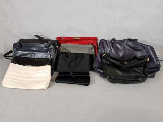 Assorted Purses & Clutches