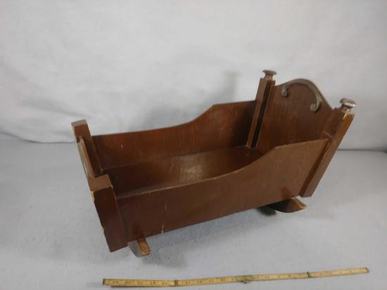 DOLL CRADLE WOOD
