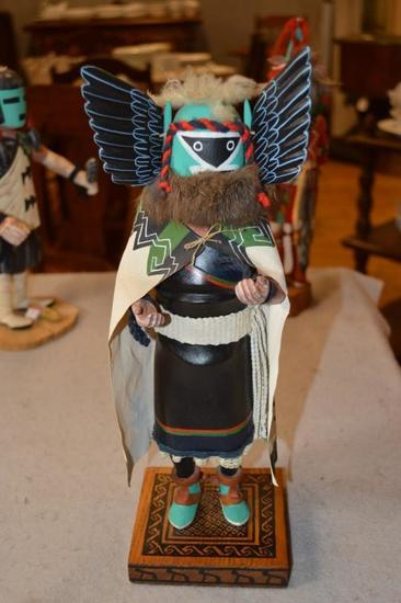 "(1) Hopi Kachina Doll ""Crow Mother"""