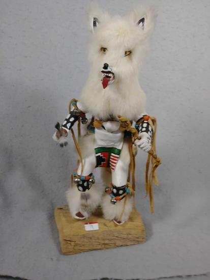Navajo Wolf Kachina Doll