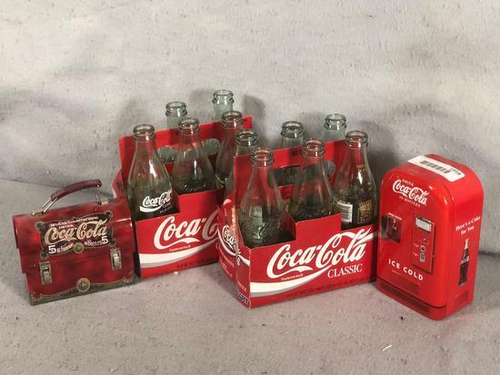 Coca-Cola Opened Bottles