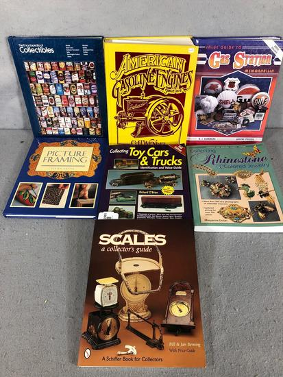 (7) Books On Collectables