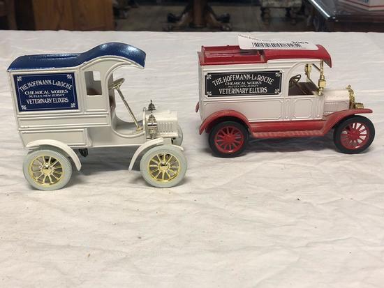 (2) ERTL Co. Die Cast cars