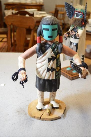 Hopi Kachina Doll - Honamana