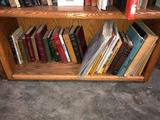 Shelf of Books on Minerals, Mining & Historical Tales