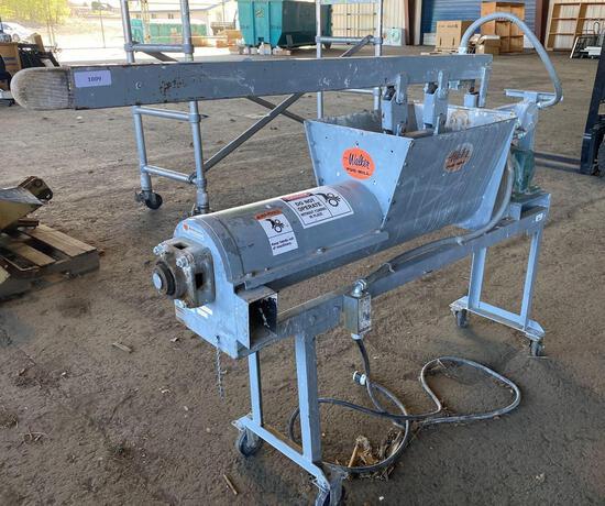 The Walker Pug Mill Model 99174-FV