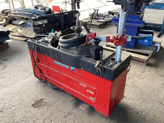 Hofmann Monty 2700 Pneumatic Tire Changer