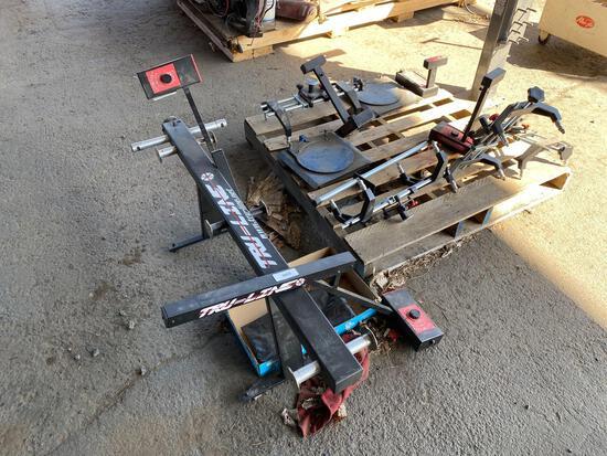 Tru-Line Wheel Alignment Machine