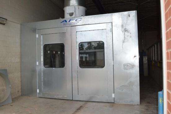 AFC Finishing Systems Crossflow Spray Booth ARA(New) See Build Sheets For Further Details