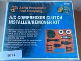 Astro Pneumatic Tool Company A/C Compressor Clutch Installer/Remover Kit