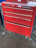 Craftsman 4-Drawer Ball Bearing Rolling Tool Chest & Contents