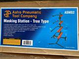 Astro Pneumatic Masking Tree & 750' Roll Of White Masking Paper