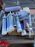 Caulking Tubes, Paint Brushes & Rollers