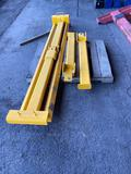 Above ground hoist components (yellow), see photos