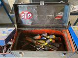 Craftsman Tool Box w/ Assortment Of Screwdrivers