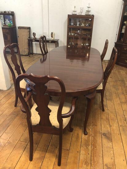 """8'5"""" Mahogany Table"""