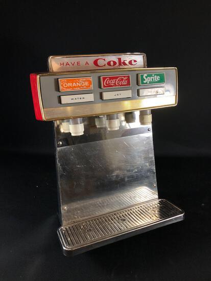 Vintage Coca-Cola Soda Fountain Dispenser Counter Top/ Bar Top
