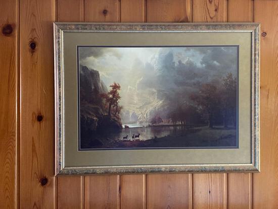 """Bierstadt Framed Print 30"""" x 40"""""""