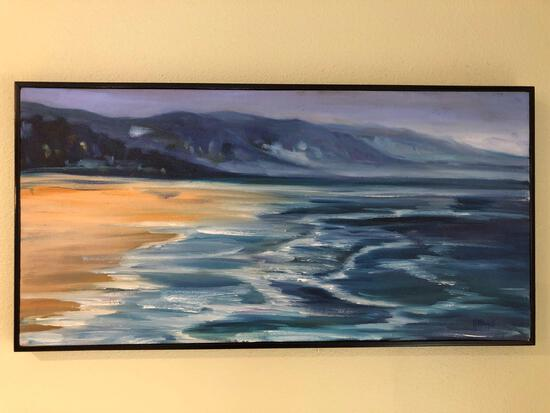 "K. Rizutti Painting Of Manzinitta MX 10-1/2"" x 20"""