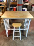 Table & Matching Stool
