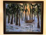 K. Rizutti Painting Depicting Bayou 23