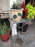 Ceramic Planter 12'Dia x 10