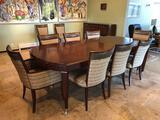 Mid Century Modern Walt Disney Signature Drexel Heritage Dining Table w/ (10) Chairs & Sideboard