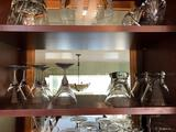 Assorted Martini Glasses