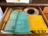 Oven Mitts, Hot Pad & Rolling Pin