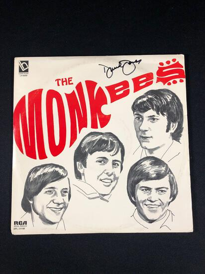 The Monkees Autographed Album by Davy Jones and Micky Dolenz