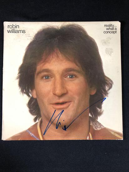 "Robin Williams ""Reality...What a Concept"" Autographed Album"