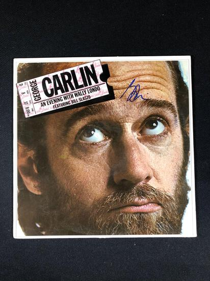 "George Carlin ""An Evening With Wally Londo"" Autographed Album"
