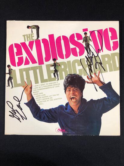 """Little Richard """"The Explosive Little Richard"""" Autographed Album"""