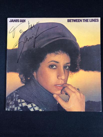 "Janice Ian ""Between the Lines"" Autographed Album"