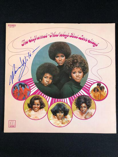 "The Supremes ""New Ways But Love Stays"" Autographed by Mary Wilson"