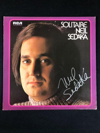 "Neil Sedaka ""Solitaire"" Autographed Album"