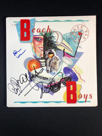 "The Beach Boys ""Made in American"" Autographed Album"